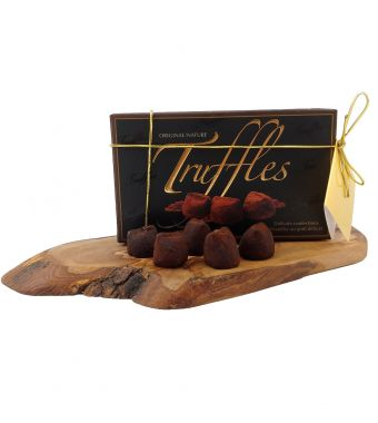 Product Name: 250 g box of Truffles with Gold Cord