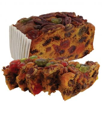 Product Name: 450gm Fruit Cake (light) / cello wrapped