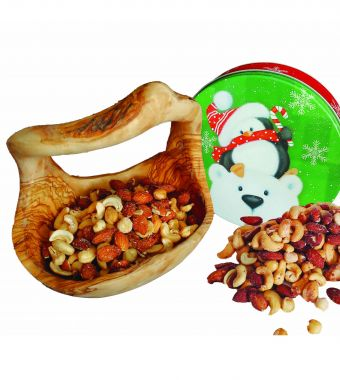 Product Name: 283gm (10 oz.) Tin of Deluxe mixed nuts